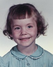 Karen at age 4