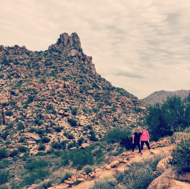 Pinnacle Peak Mountain in Scottsdale