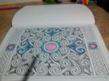Coloring started
